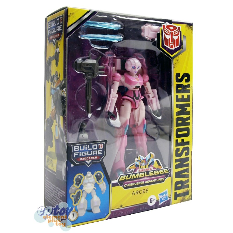 Transformers Bumblebee Cyberverse Adventures Deluxe Class Arcee