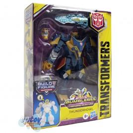 Transformers Build a Figure Maccadam Bumblebee Cyberverse Adventures Deluxe Class Thunderhowl