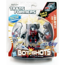 Transformers Bot Shots Battle Game Series 1: B015 Leadfoot