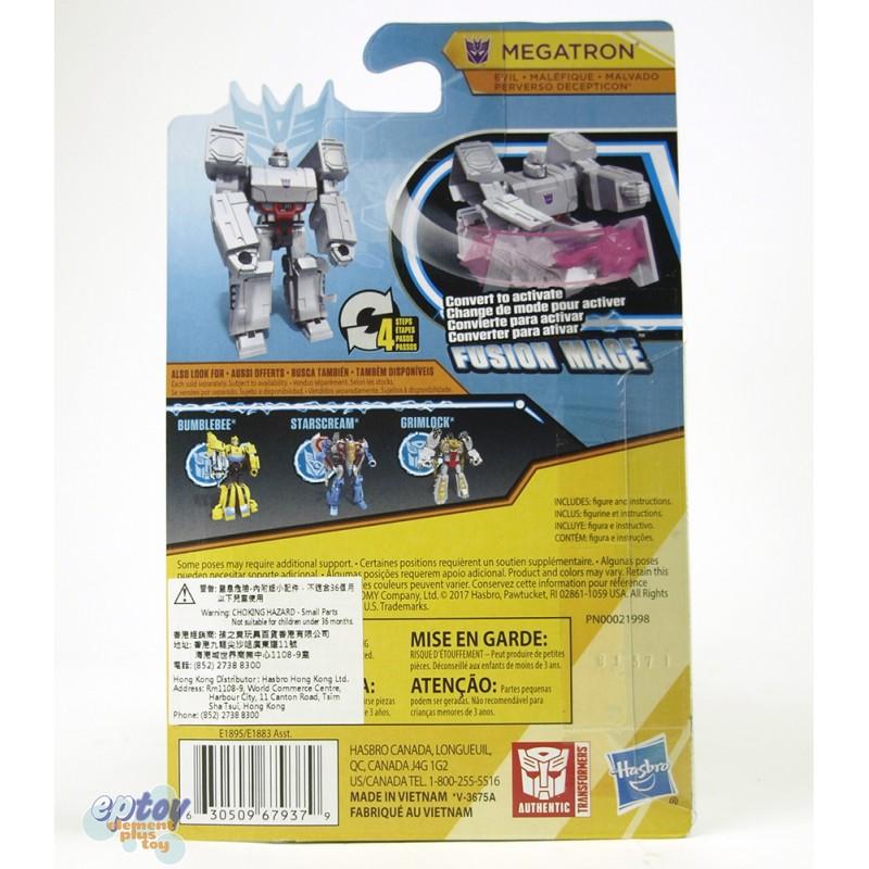 Transformers Cyberverse Scout Class Fusion Mage Megatron