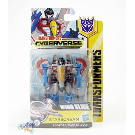 Transformers Cyberverse Scout Class Wing Slice Starscream