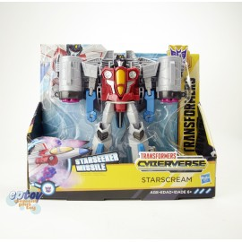 Transformers Cyberverse Ultra Class Starseeker Missile Starscream