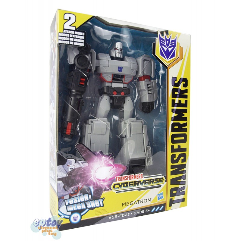 Transformers Cyberverse Ultimate Class Fusion Mega Shot Megatron