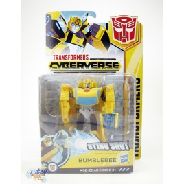 Transformers Cyberverse Warrior Class Sting Shot Bumblebee