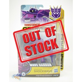 Transformers Cyberverse Warrior Class Wave Cannon Decepticon Shockwave