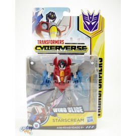 Transformers Cyberverse Warrior Class Wing Slice Starscream