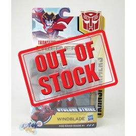 Transformers Cyberverse Warrior Class Cyclone Strike Windblade