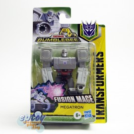 Transformers Bumblebee Cyberverse Adventures Scout Class Fusion Mage Megatron