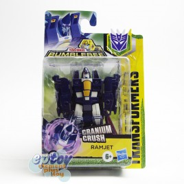 Transformers Bumblebee Cyberverse Adventures Scout Class Cranium Crush Ramjet