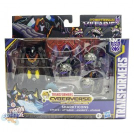Transformers Cyberverse Cybertronian Villains Sharkticons Hot Rod