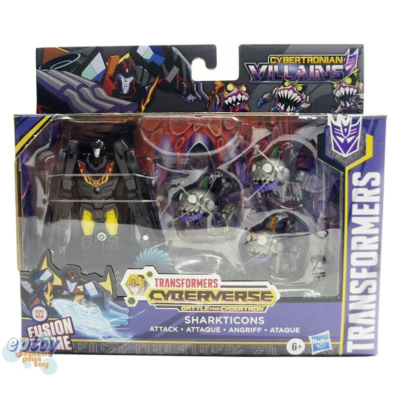 Transformers Cyberverse Cybertronian Villains Sharkticons Hot Rod