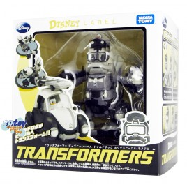 Transformers Disney Label Donald Duck Black & White Ver.