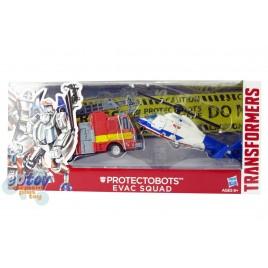 Transformers Protectobots Evac Squad 2 Pack Hot Spot & Blades