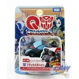 Transformers Choro Q QT-32 Black Megatron Lamborghini Veneno