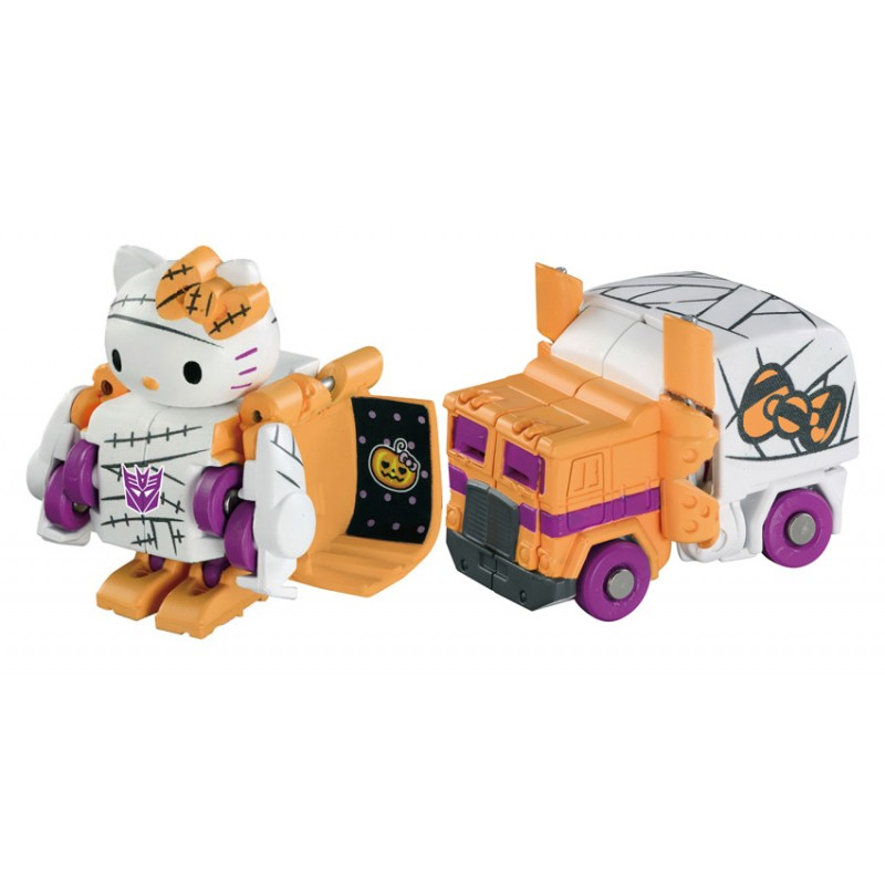 Transformers Choro Q QTC-01H Hello Kitty 2015 Halloween Edition