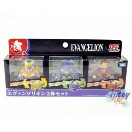Transformers Choro Q QTC-02 Evangelion EVA Set