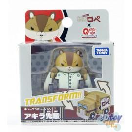 Transformers Choro Q QTC-04 Paper Rabbit Rope Akira Senpai
