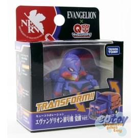 Transformers Choro Q QTC-07 Evangelion EVA-01 Another Mode Ver.