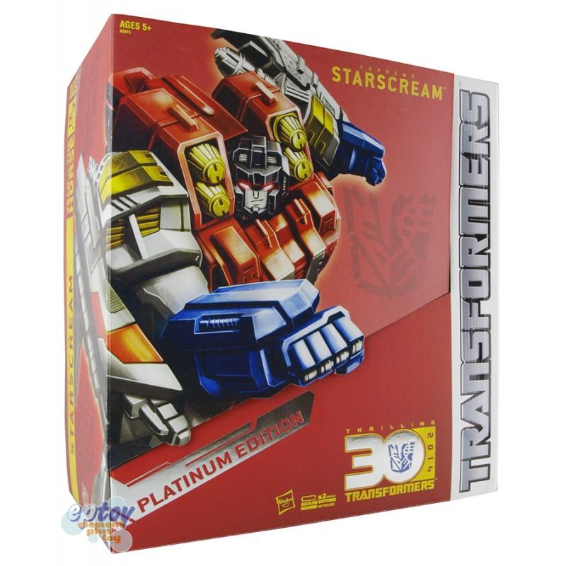 Transformers Platinum Edition Year of The Horse 2014 Supreme Starscream
