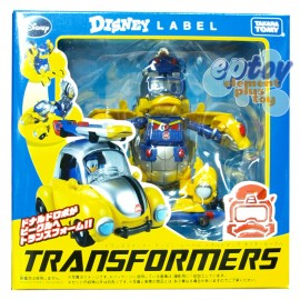 Transformers Disney Label Donald Duck
