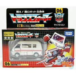 Transformers Encore 06 Ratchet Reissue