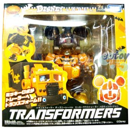 Transformers Disney Label Mickey Mouse Halloween Ver.