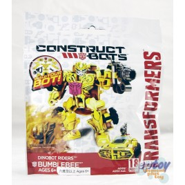 Transformers Movie 4 Construct Bots Dinobot Riders Bumblebee