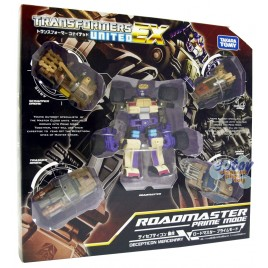 Transformers United EX EX-03 Decepticon Mercenary Roadmaster Prime Mode