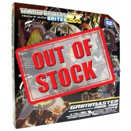 Transformers United EX EX-04 Autobot Berserker Grimmaster Prime Mode