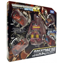 Transformers United EX EX-05 Autobot Vanguard Musketeer Racemaster Prime Mode