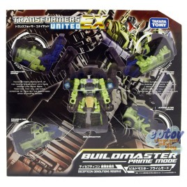 Transformers United EX EX-06 Decepticon Demolitions Reserve BuildMaster Prime Mode