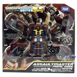 Transformers United EX EX-07 Autobot Special Assault Assaultmaster Prime Mode