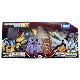 Takara Tomy Transformers United EX EXP02 Dozermaster VS Airmaster