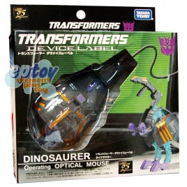 Transformers Device Label Dinosaurer USB Operationg Optical Mouse