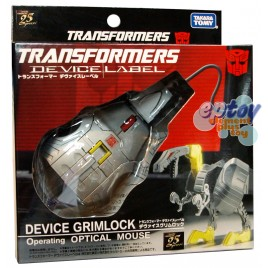 Transformers Device Label Grimlock USB Operationg Optical Mouse