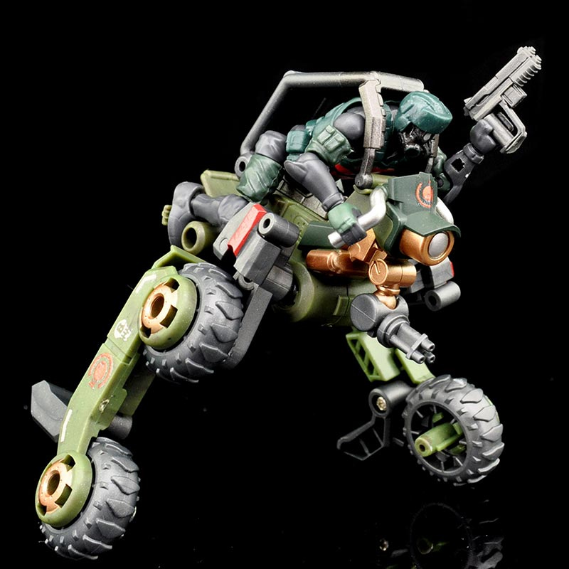 B2Five Acid Rain World Agurts Military K6 Jungle Speeder MK1K Figures Set