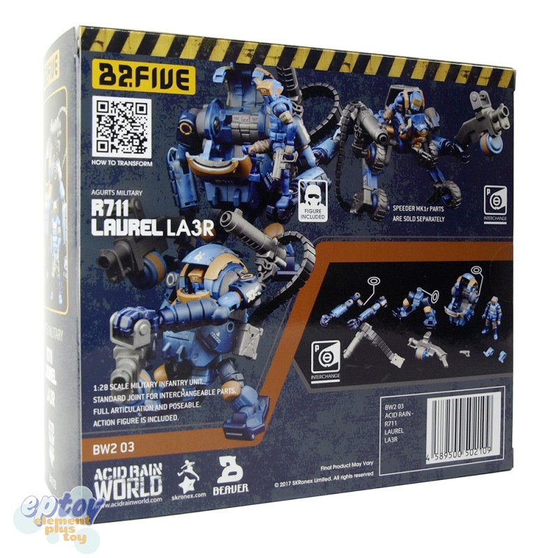 B2Five Acid Rain World Agurts Military R711 Laurel LA3R 1/28 Figures Set