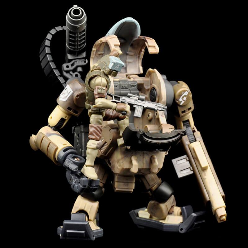 B2Five Acid Rain World Agurts Military 88th Sand Laurel LA4S4 1/28 Figures Set