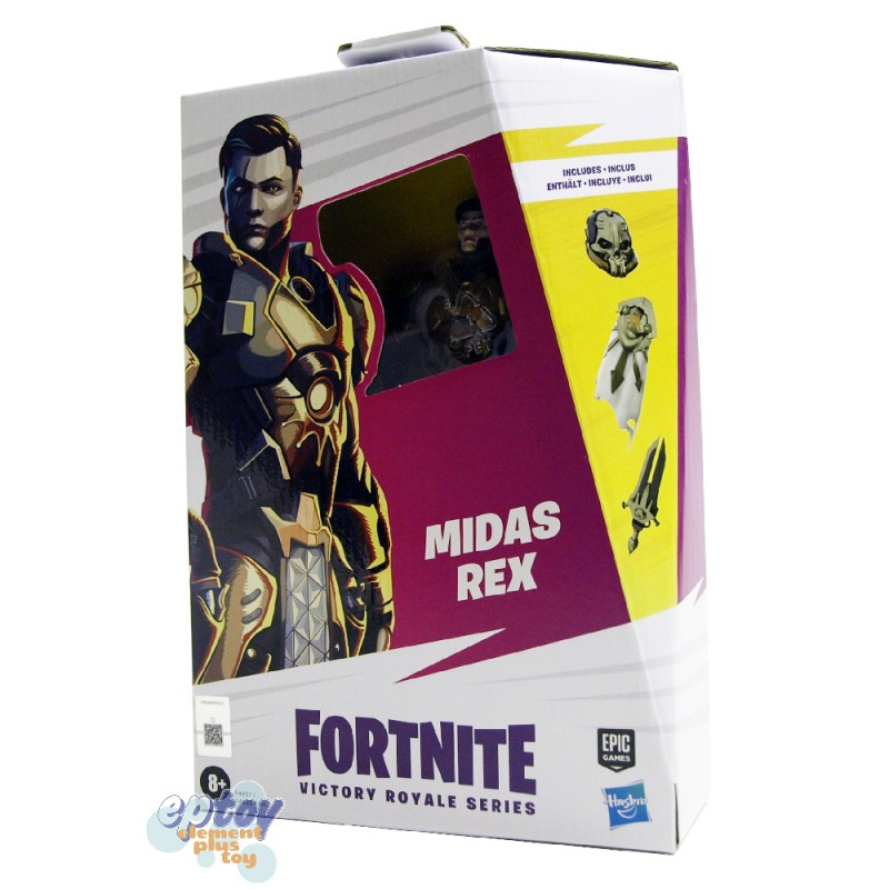Fortnite Victory Royale Series 6-inch Lynx Midas Rex Chaos Agent Rippley Action Figures Set