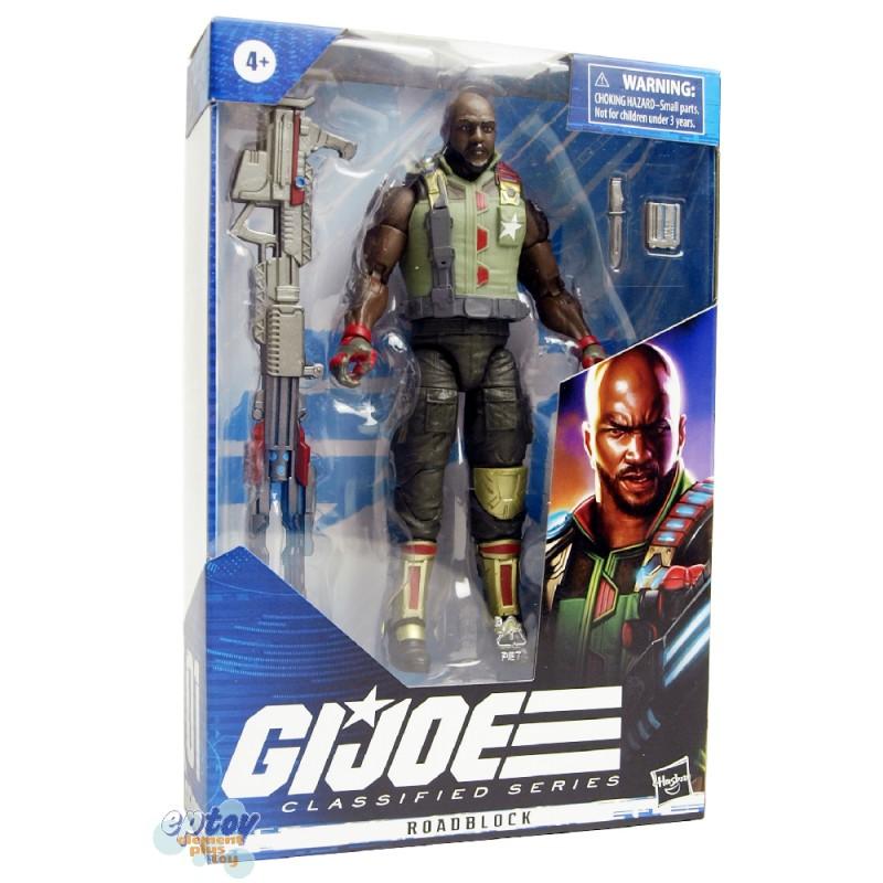 G.I.JOE GIJOE Classified Series 6-inch Roadblock Snake Eyes Destro Duke Scarlett Set