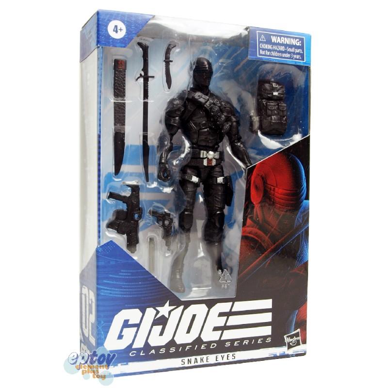 G.I.JOE GIJOE Classified Series 6-inch Snake Eyes