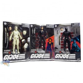 G.I.JOE Origins Snake Eyes GIJOE Classified Series 6-inch Snake Eyes Baroness Storm Shadown Set