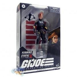 G.I.JOE Origins Snake Eyes GIJOE Classified Series 6-inch Scarlett