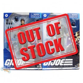 G.I.JOE GIJOE Classified Series 6-inch Flint Lady Jaye Set