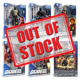 G.I.JOE GIJOE Classified Series 6-inch Roadblock Snake Eyes Destro Duke Scarlett Set