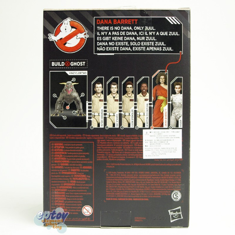 Ghostbusters Build a Ghost Vinz Clortho Plasma Series 6-inch Figures Set of 6