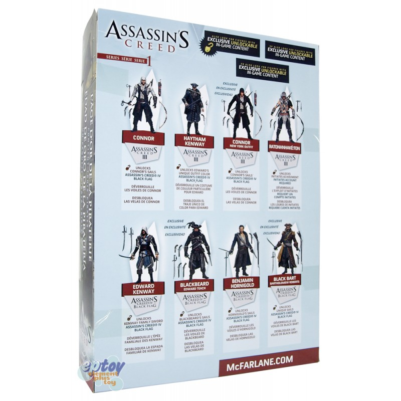 McFARLANE Assassin's Creed Golden Age of Piracy A Pirate 3 Pack