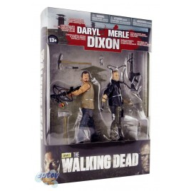 McFARLANE THE WALKING DEAD Dixon Brother Daryl & Merle 2-Pack
