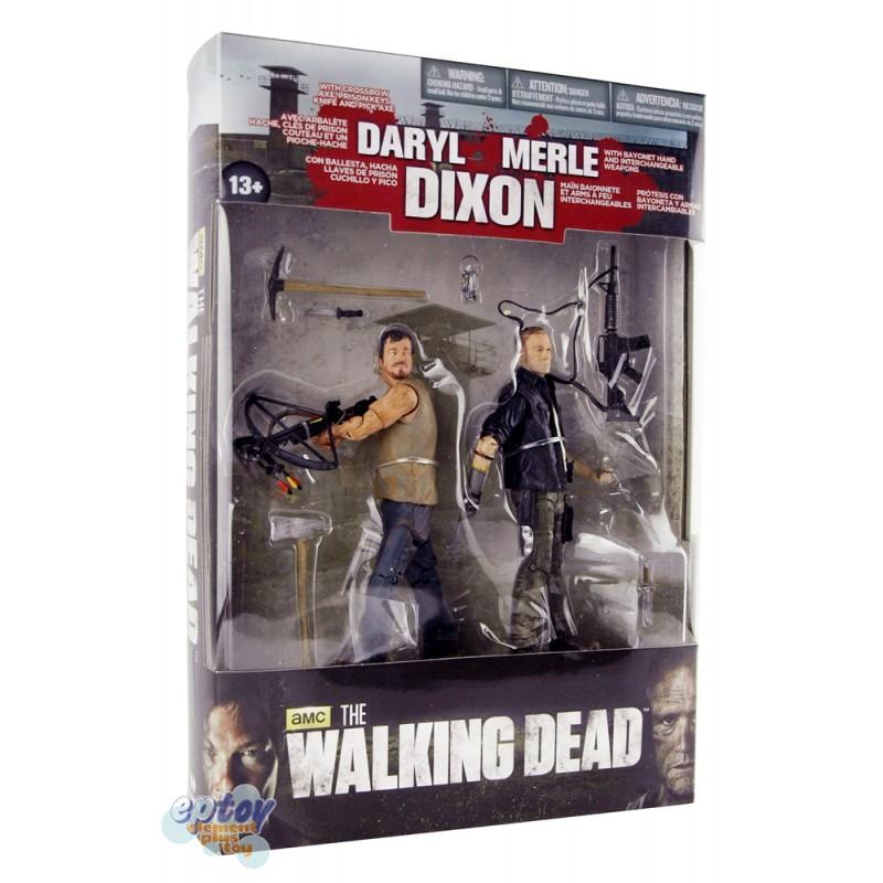 McFARLANE THE WALKING DEAD Dixon Brother Daryl & Merle 2-Pack