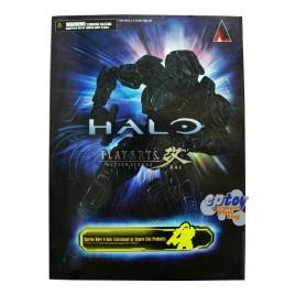 Square Enix Play Arts Kai Halo Master Chief Spartan MJOLNIR Armor Mark V Gold